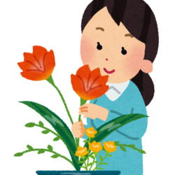 簡単生け花