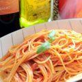 レシピの女王超簡単ツナの和風トマトパスタ!鍋と袋で時短料理!