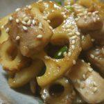おぼえておきたい和食レシピ『鶏と蓮根のきんぴら』常備菜にもお弁当にも!