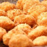 笠原シェフおかずレシピ 鶏むね肉はさみカツ&レタスとのり佃煮のサラダ