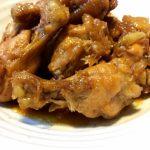 3分クッキングレシピ 鶏手羽元と卵の甘酢煮&セロリの和え物