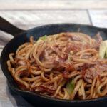 しらたきレシピでダイエット!ソース焼きそば&炒飯(チャーハン)の作り方