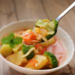 夏野菜で超簡単レシピ 滝沢カレン流カレースープはヘルシー具沢山なのにオシャレ!