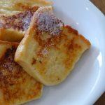 卵液に漬けこまなくてもレンジで時短!簡単フレンチトーストの作り方
