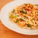 「スッキリ」小倉優子ゆうこりんレシピ!タイ風焼きそばパッタイの作り方